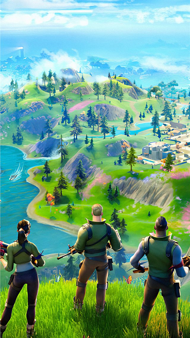 fortnite chapter 2 2019 iPhone wallpaper