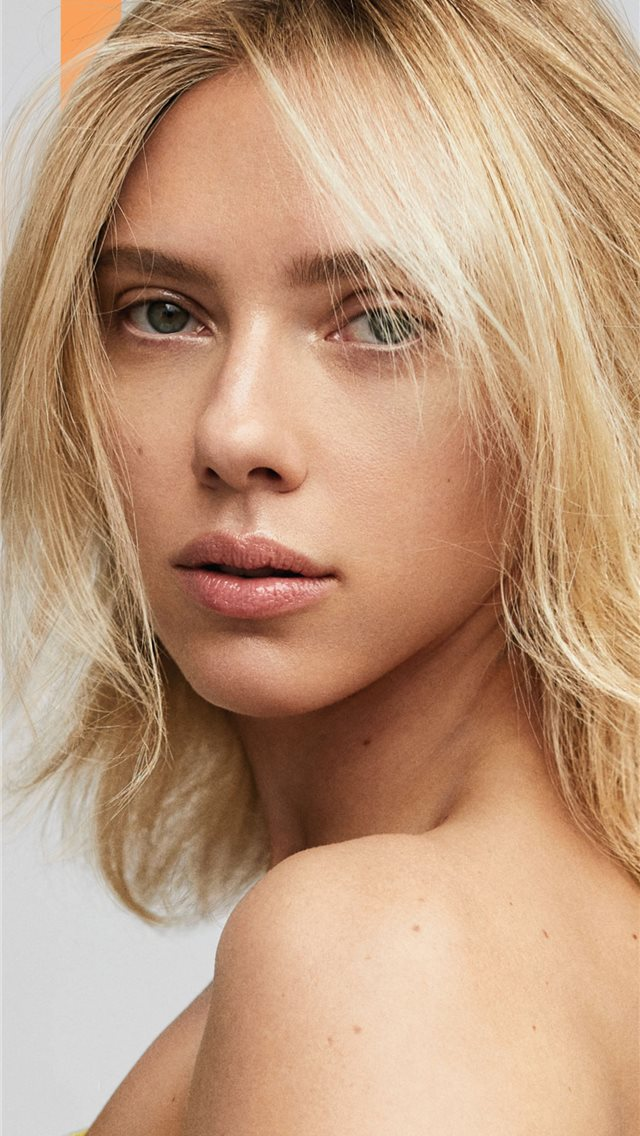 scarlett johansson elle 2019 photoshoot iPhone wallpaper