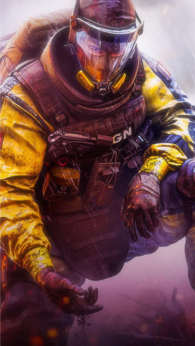 tom clancys rainbow sixsiege iPhone wallpaper