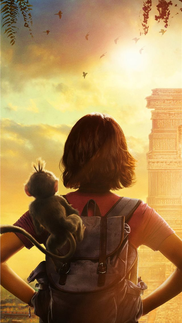 dora and the lost city of gold 2019 poster iPhone wallpaper
