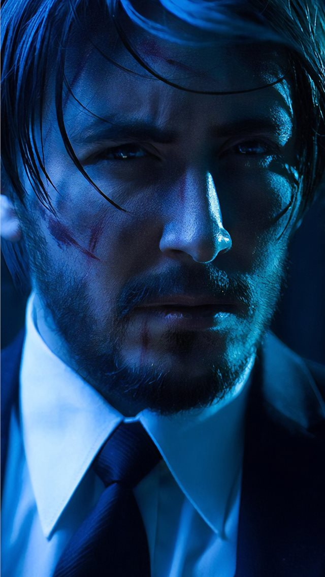 john wick cosplay 4k iPhone wallpaper