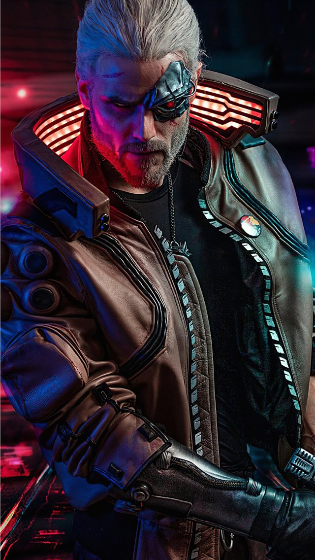 cyberpunk 2077 witcher iPhone wallpaper
