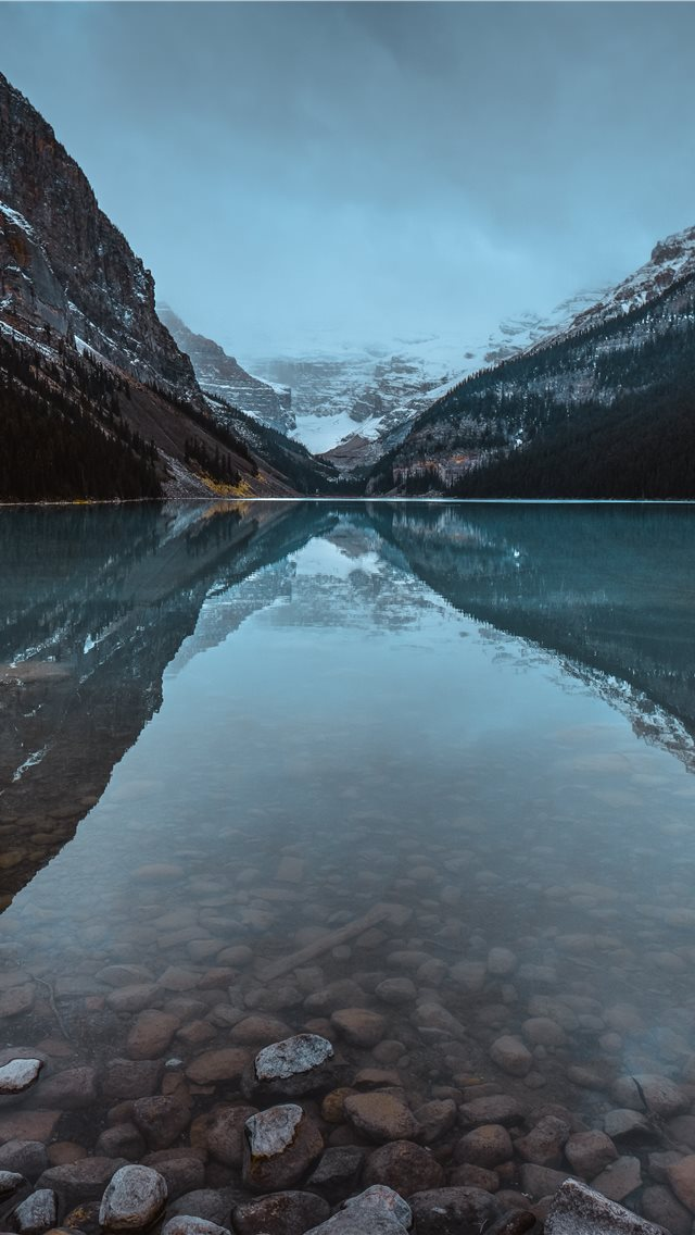 calm body of water iPhone wallpaper
