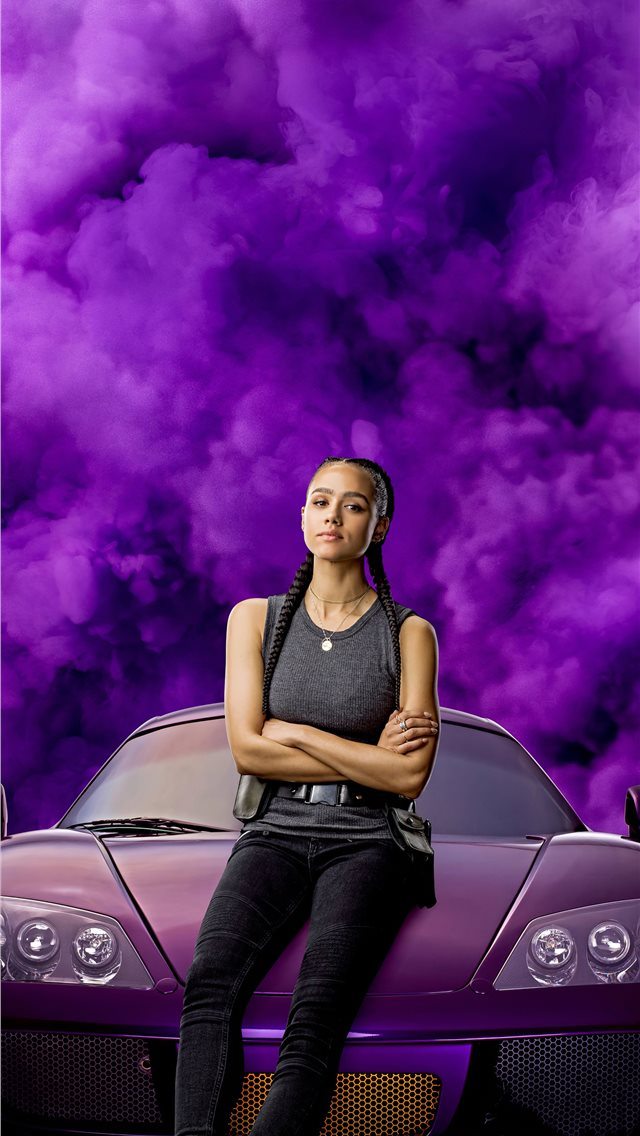 ramsey in fast and furious 9 2020 movie iPhone wallpaper