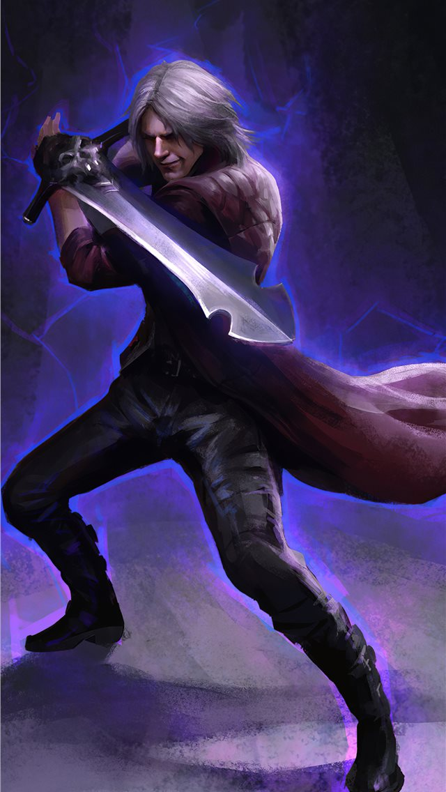 dante devil may cry 5 4k iPhone Wallpapers Free Download