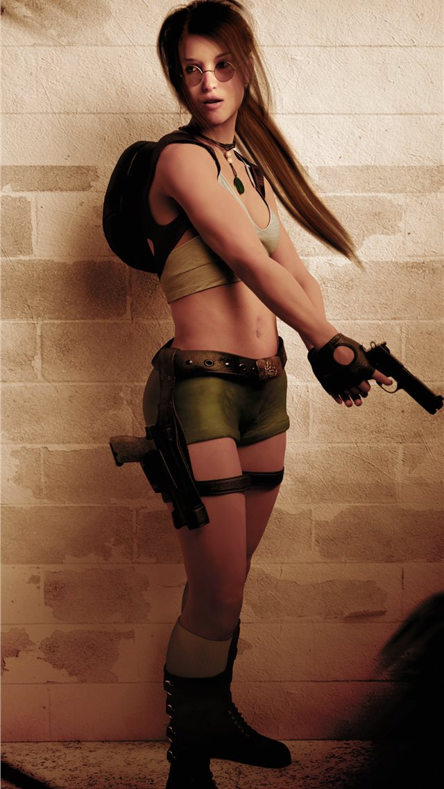 tomb raider 3 5k iPhone wallpaper