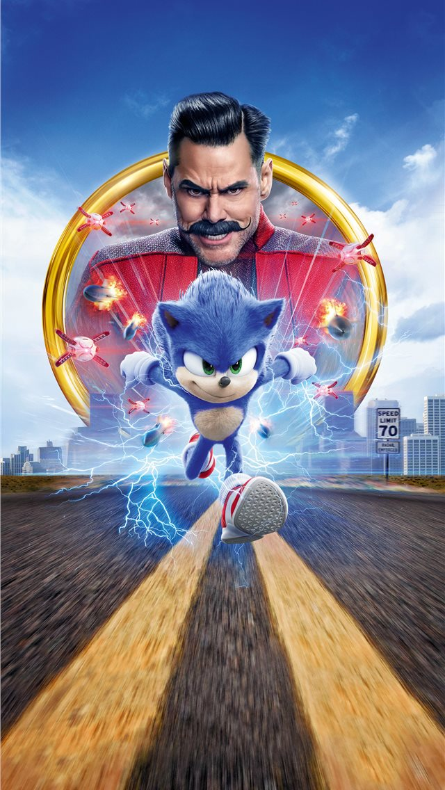 sonic the hedgehog 2020 15k iPhone wallpaper
