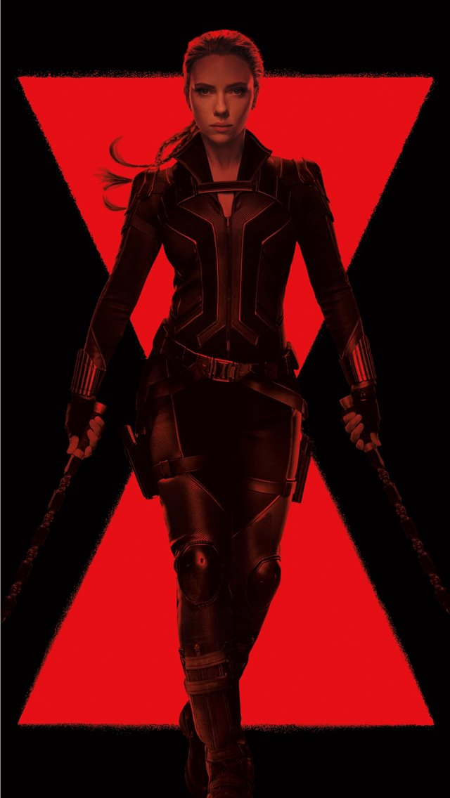 black widow 5k 2020 iPhone wallpaper