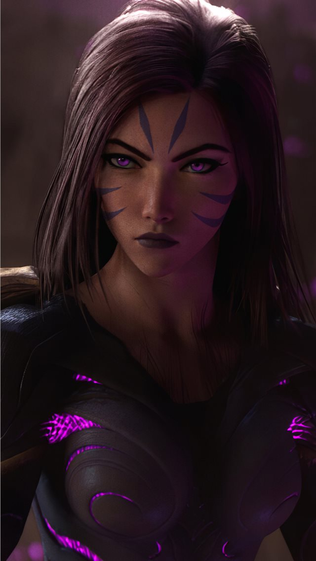 kaisa iPhone wallpaper