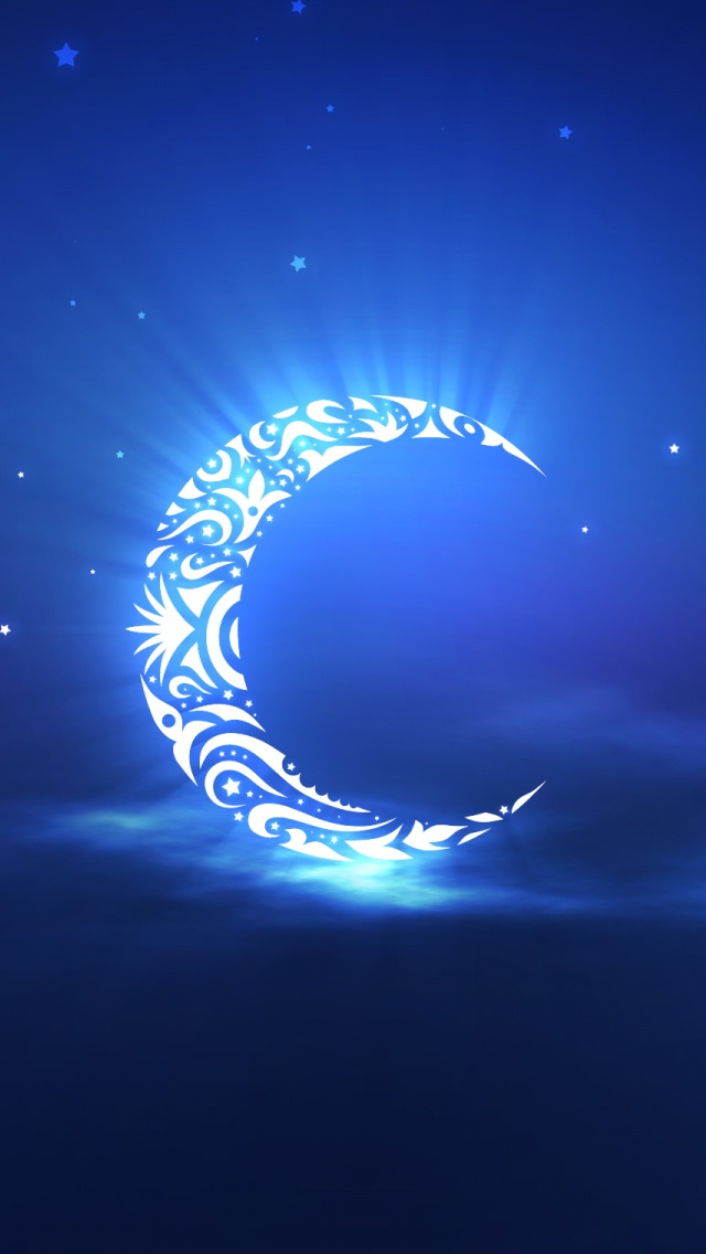 Holy Ramadan Moon iphone wallpaper ilikewallpaper com