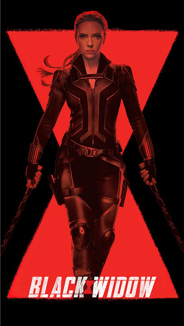 black widow 2020 movie 4k iPhone wallpaper