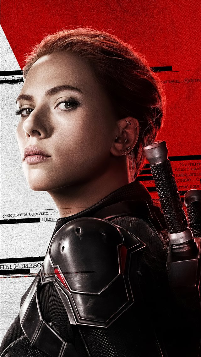 natasha romanoff black widow 4k 2020 iPhone wallpaper
