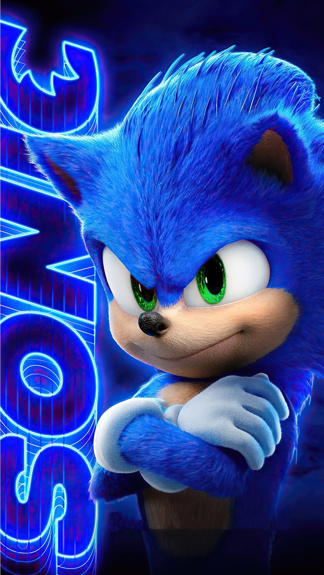 sonic the hedgehog2020 iPhone wallpaper