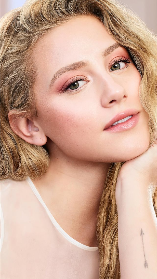 lili reinhart covergirl campaign photoshoot 2020 4... iPhone wallpaper