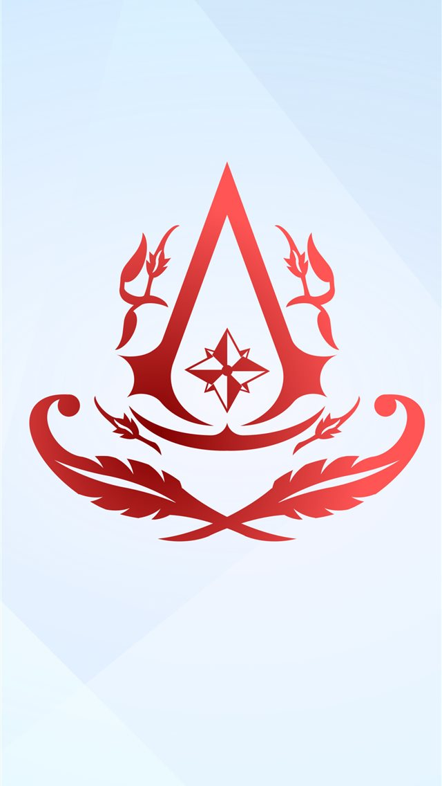 assassins creed 4k minimal logo 2020 iPhone wallpaper