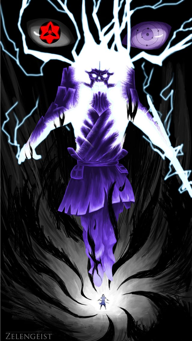 Susanoo by Julie Almoneda on ArtStation  iPhone wallpaper