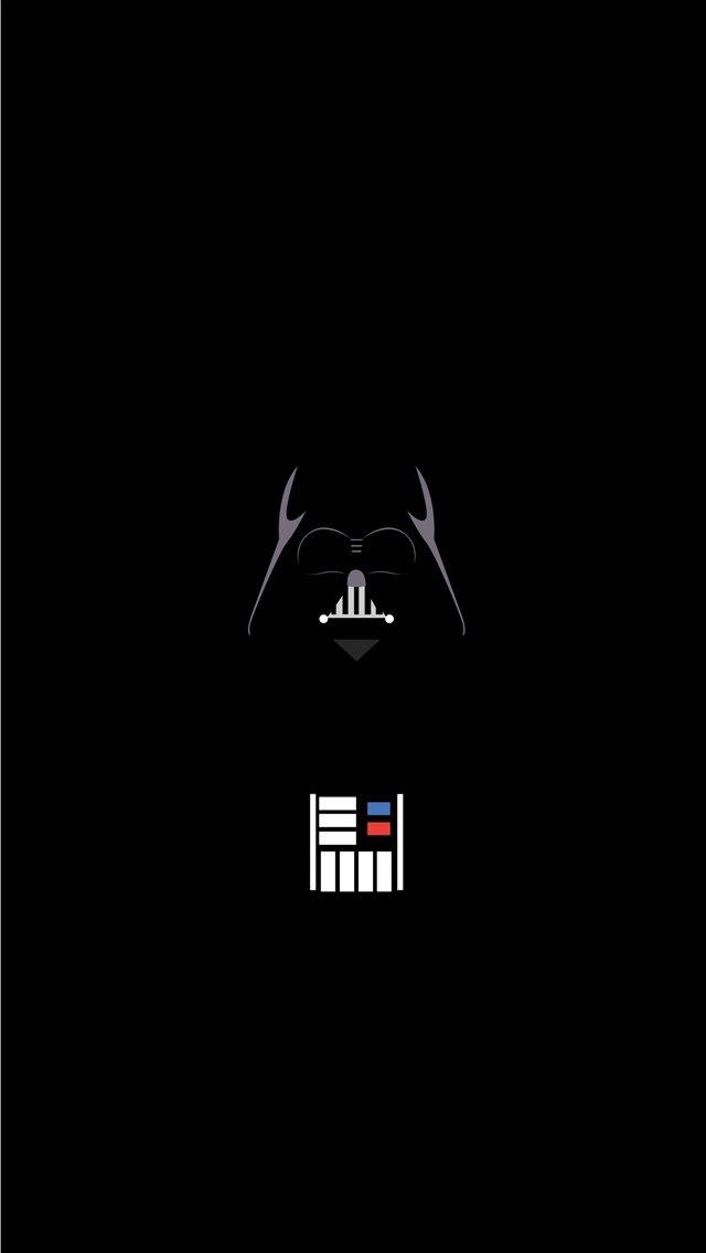 Vader Minimalist iphone wallpaper ilikewallpaper com