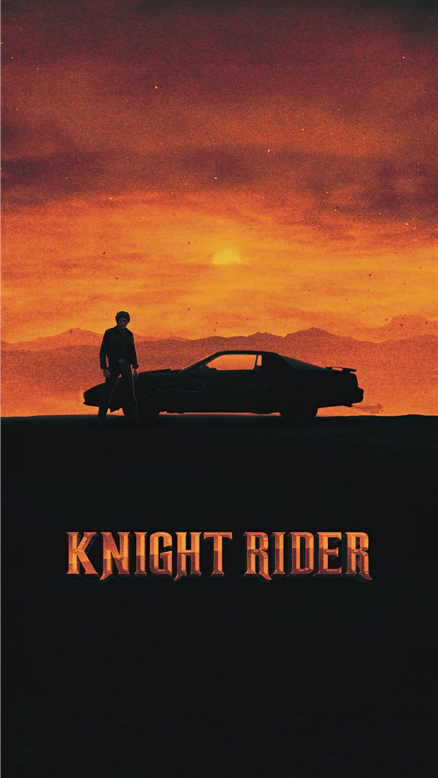 knight rider 1982 movie poster iPhone wallpaper