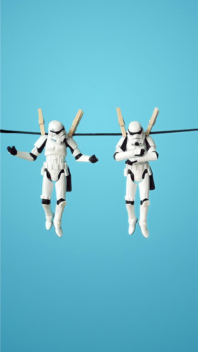 stormtrooper funny 4k iPhone wallpaper