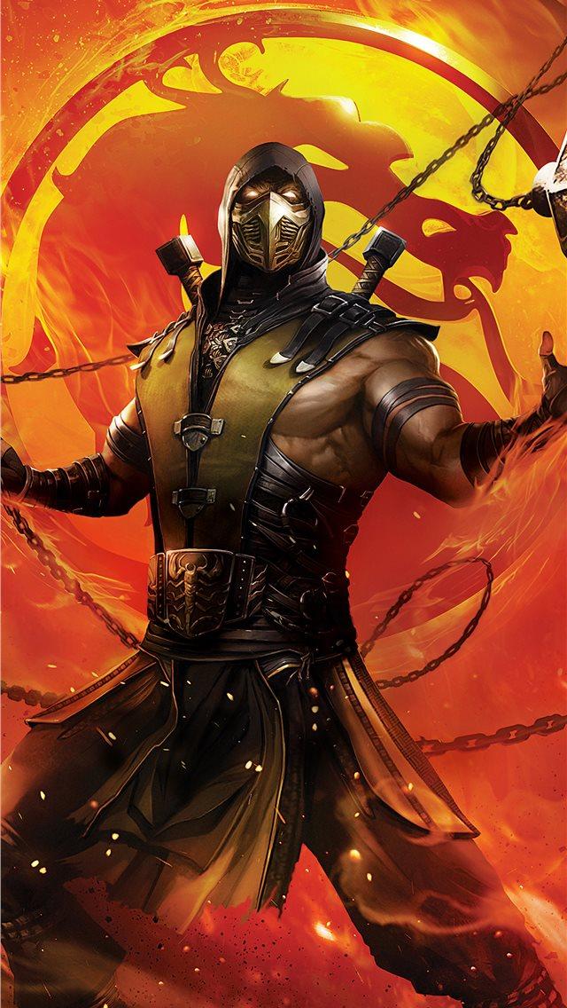 Mortal Kombat Legends Scorpions Revenge 2020 Iphone Wallpapers