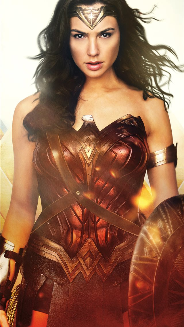 wonder woman night angel 12k iPhone wallpaper