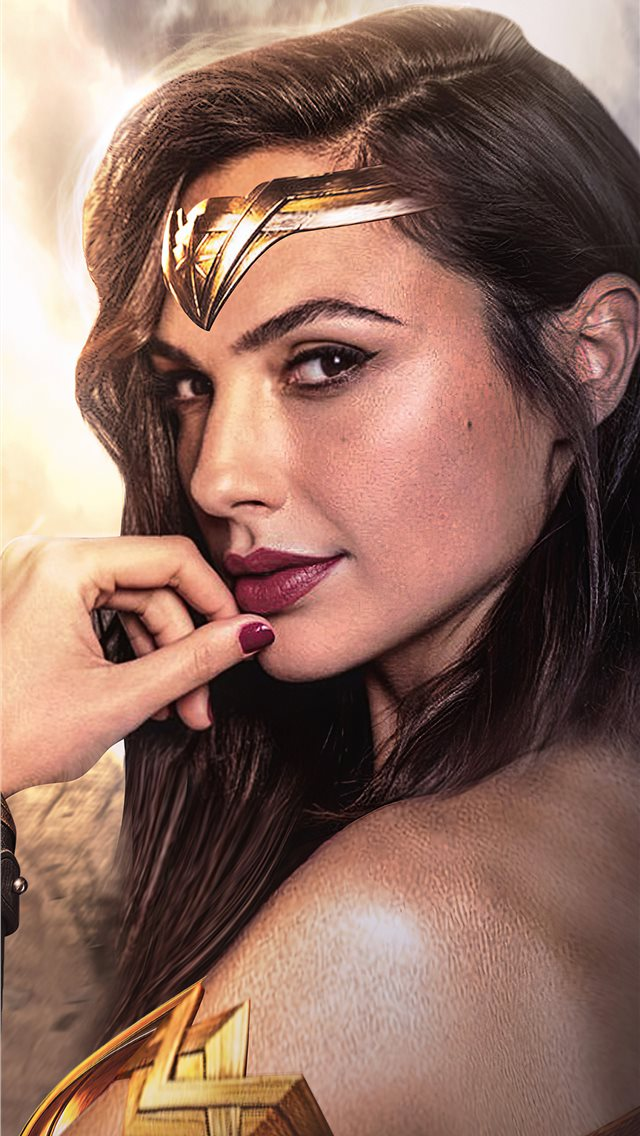 1984 wonder woman iPhone wallpaper