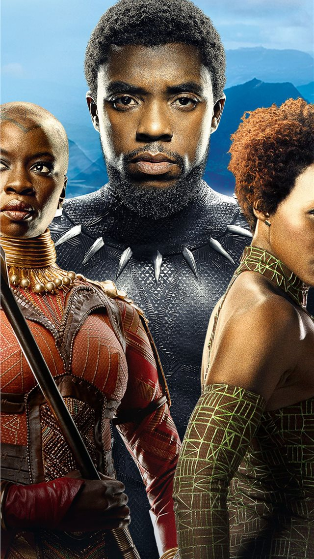 Best Black Panther Iphone Wallpapers Hd Ilikewallpaper