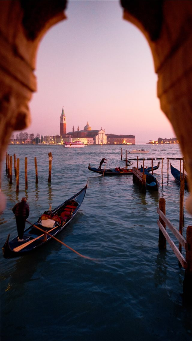 Grand Canal Venice Italy iPhone wallpaper