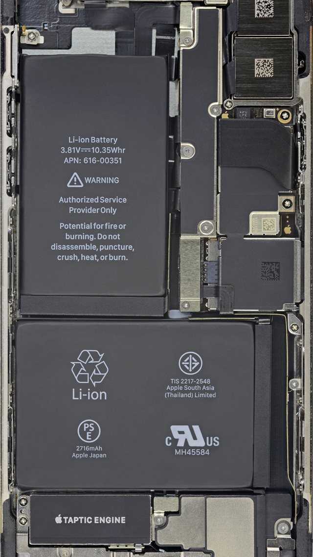 Cool Insides By Ifixit Battery Hd iPhone wallpaper