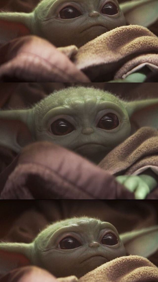 Cute baby yoda mandalorian 4K Star Wars Disney iphone wallpaper ilikewallpaper com