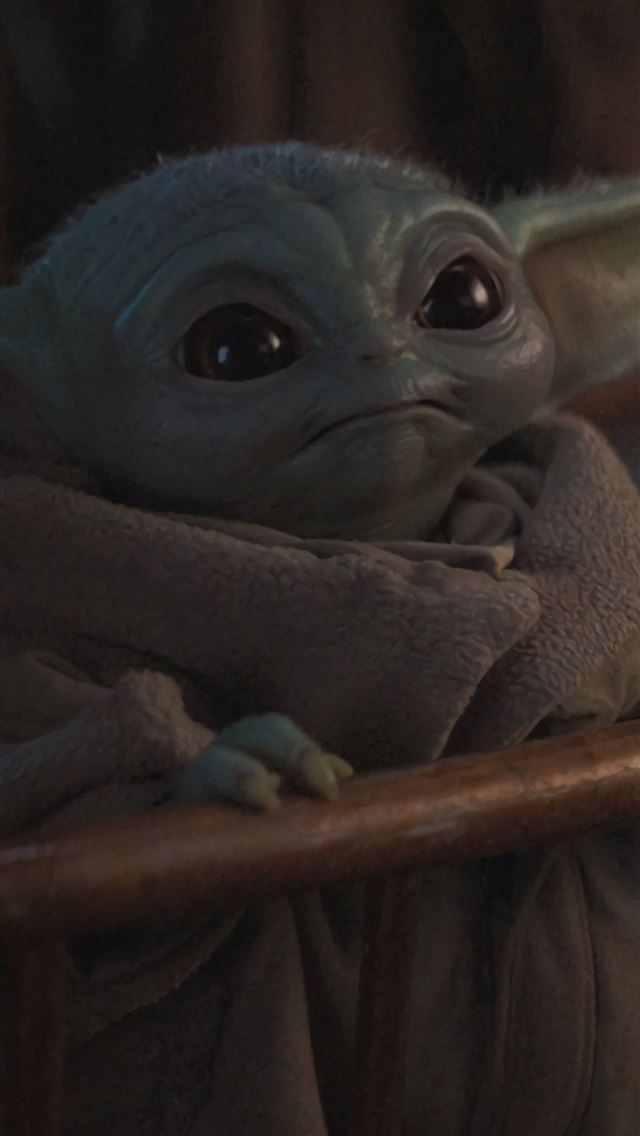 Cute Baby Yoda from Mandalorian Resolution iphone wallpaper ilikewallpaper com