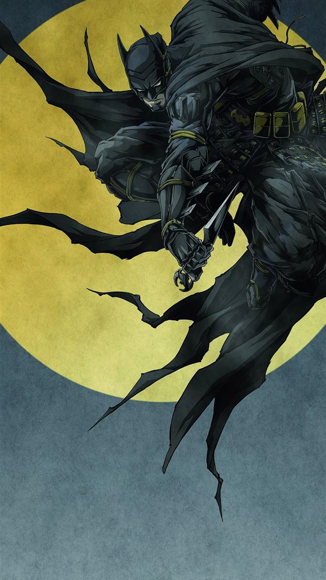 19 Batman Ninja on afari iPhone wallpaper