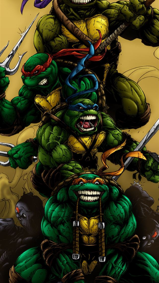 Ninja Turtles posted by Sarah Johnson iPhone wallpaper