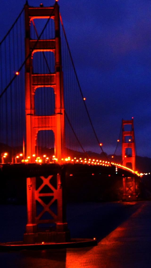 Golden Gate Bridge 3 iPhone Wallpapers