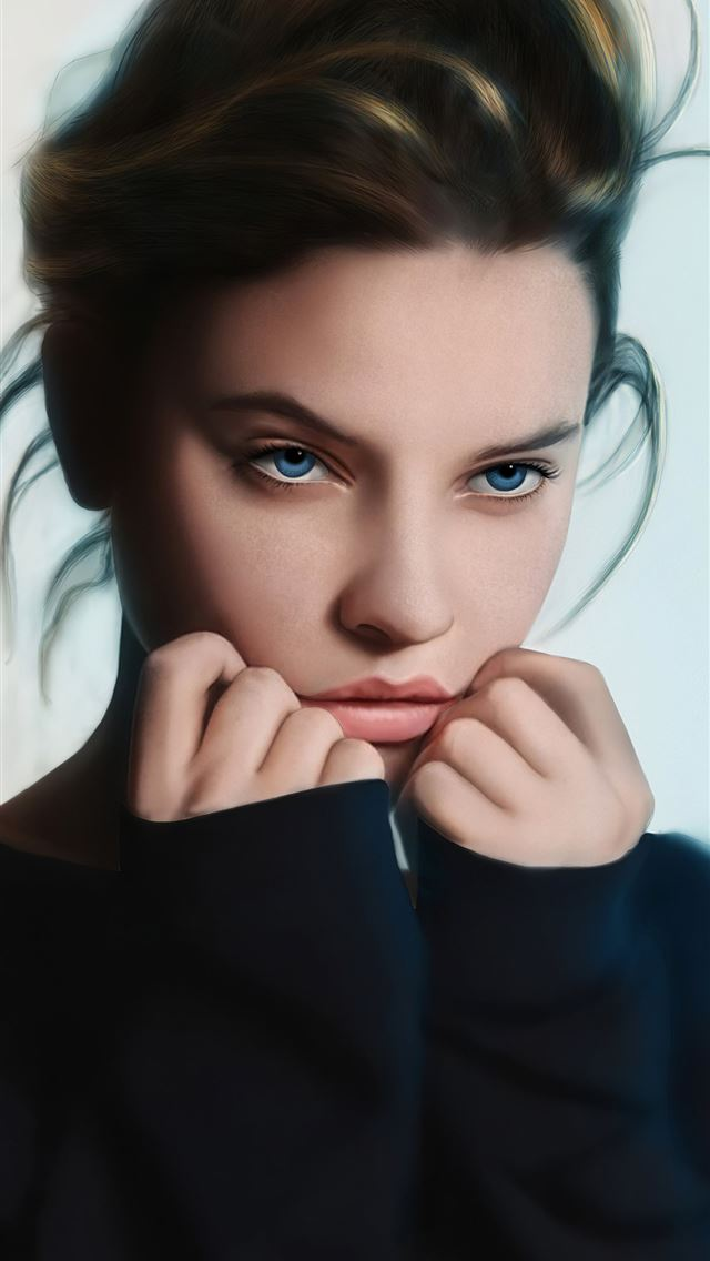 barbarapalvin cute art iPhone wallpaper