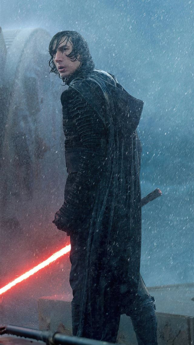 kylo ren in star wars the rise of skywalker iPhone wallpaper