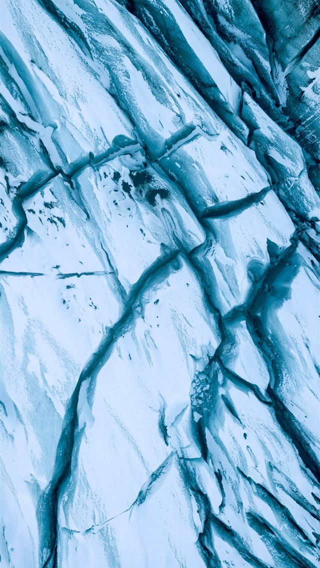 cracked rock formation illustration iPhone wallpaper