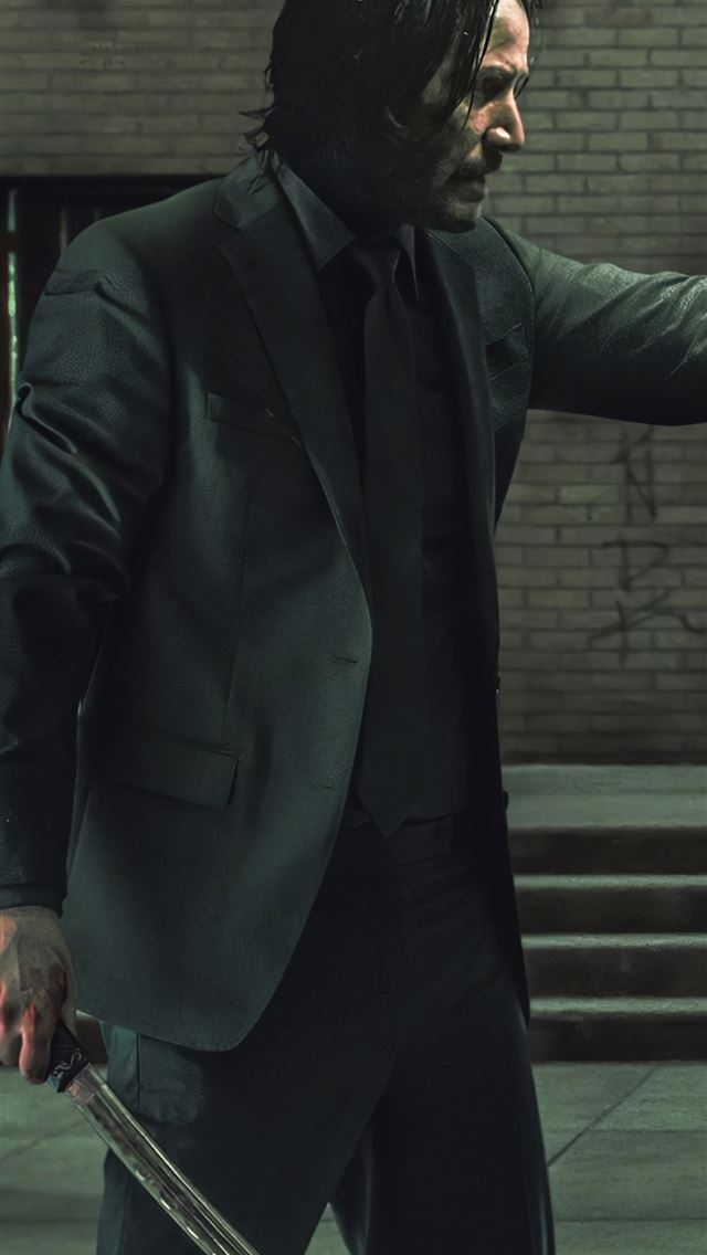 john wick 4 and matrix 4 iPhone wallpaper