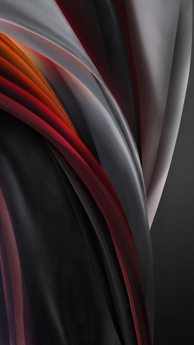iphone se 2020 stock wallpaper Silk Red Mono Light iPhone wallpaper