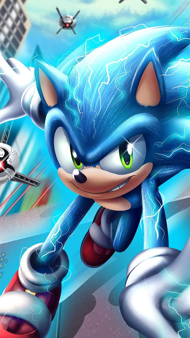 sonic the hedgehog 4k 2020 iPhone wallpaper