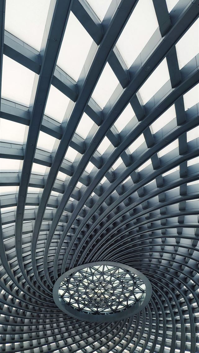I passed the Tianjin Binhai Railway Station and sa... iPhone wallpaper