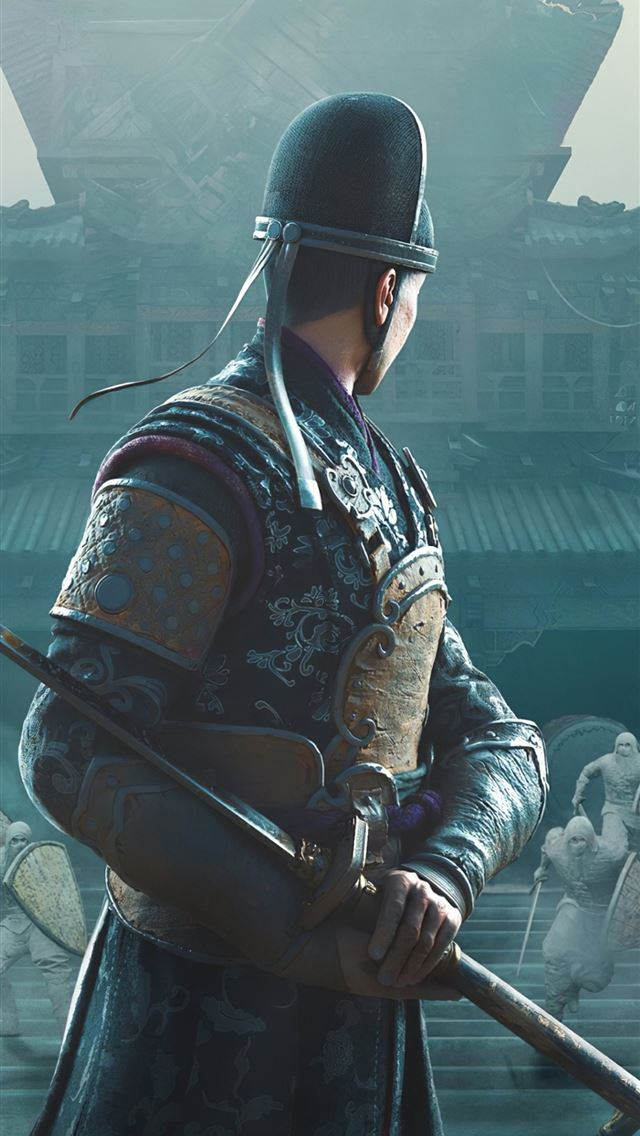 for honor the zhanhu gambit iPhone wallpaper
