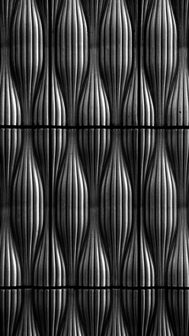Hypnotic Interwoven Pattern in Concrete iPhone wallpaper