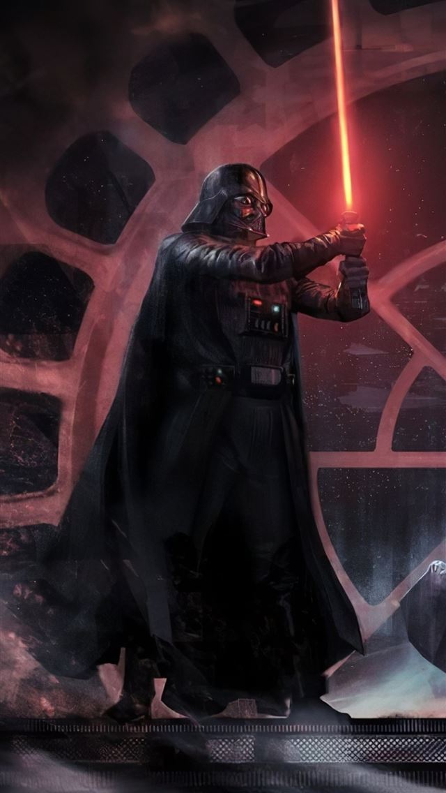 darth vader vs luke skywalker iPhone wallpaper