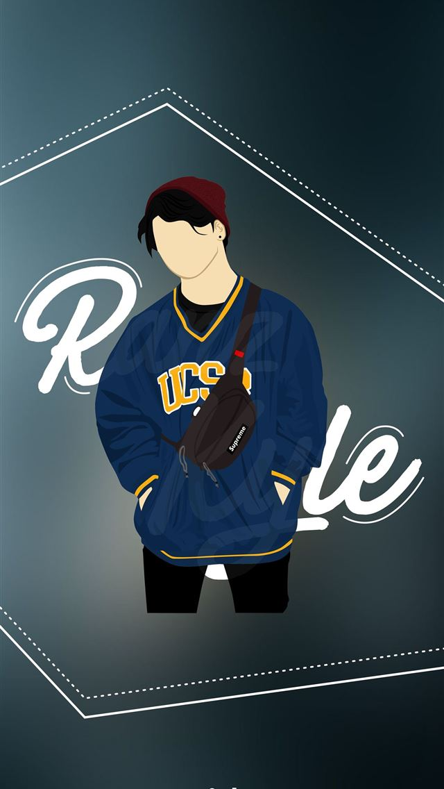 Ranz Kyle Vector Design by Degree iPhone wallpaper