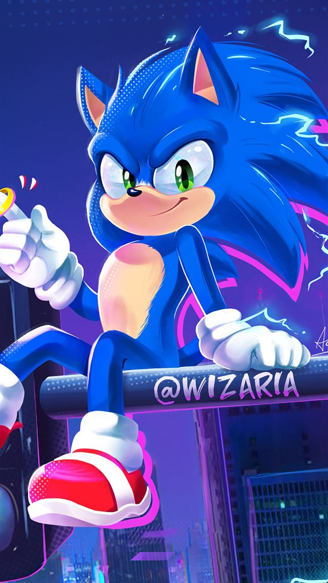 into the sonic verse 4k iPhone wallpaper