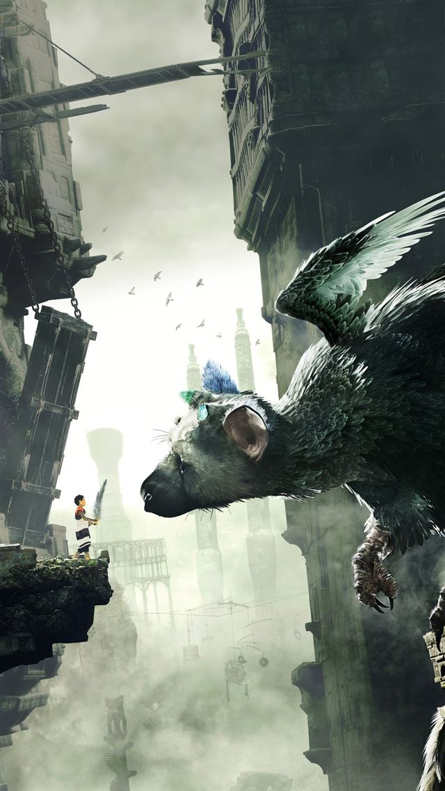 the last guardian 10k iPhone wallpaper