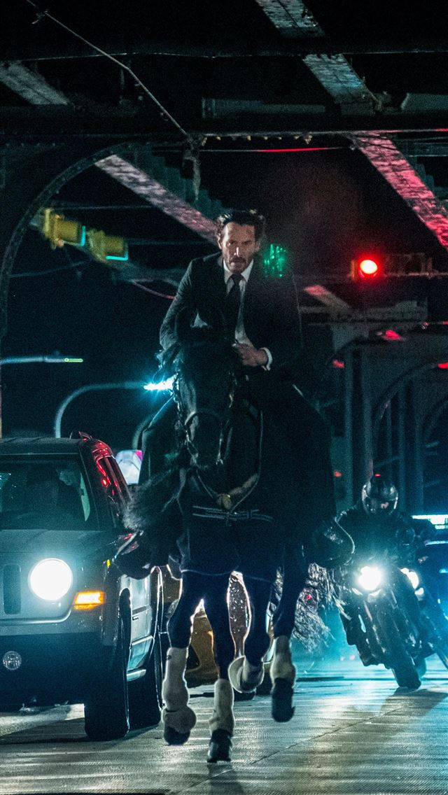 john wick chapter 3 still iPhone wallpaper