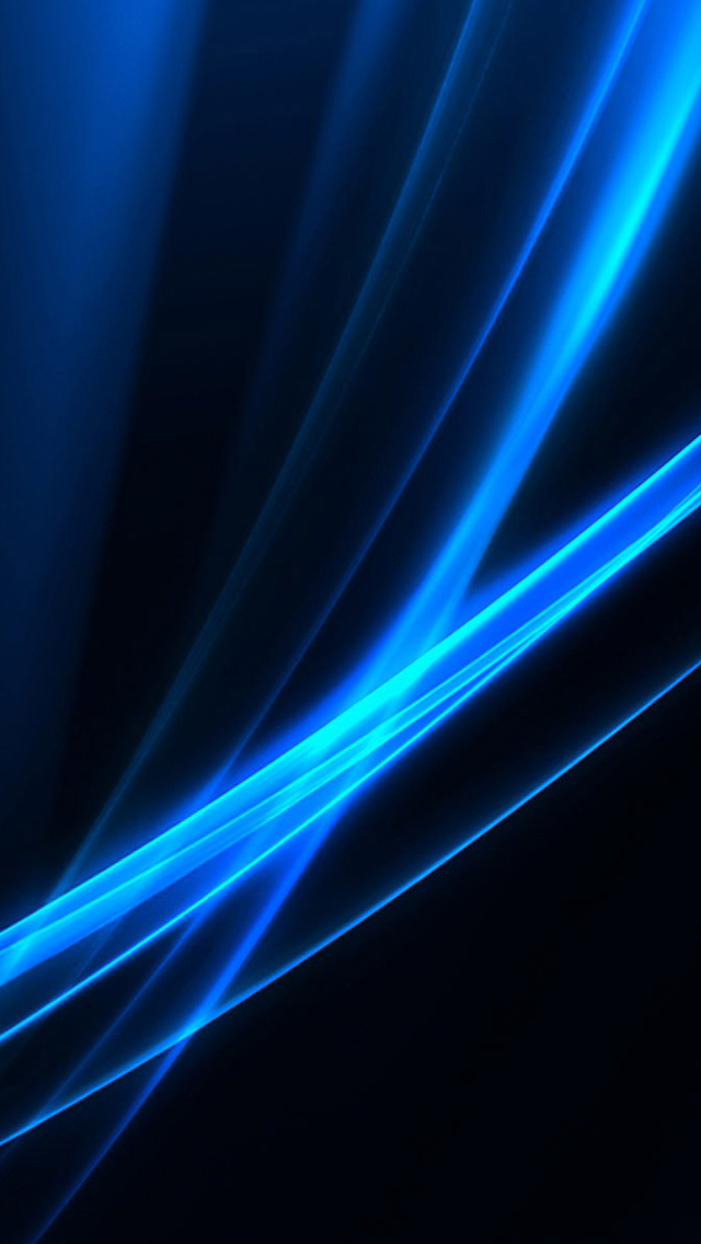 Blue light iPhone wallpaper