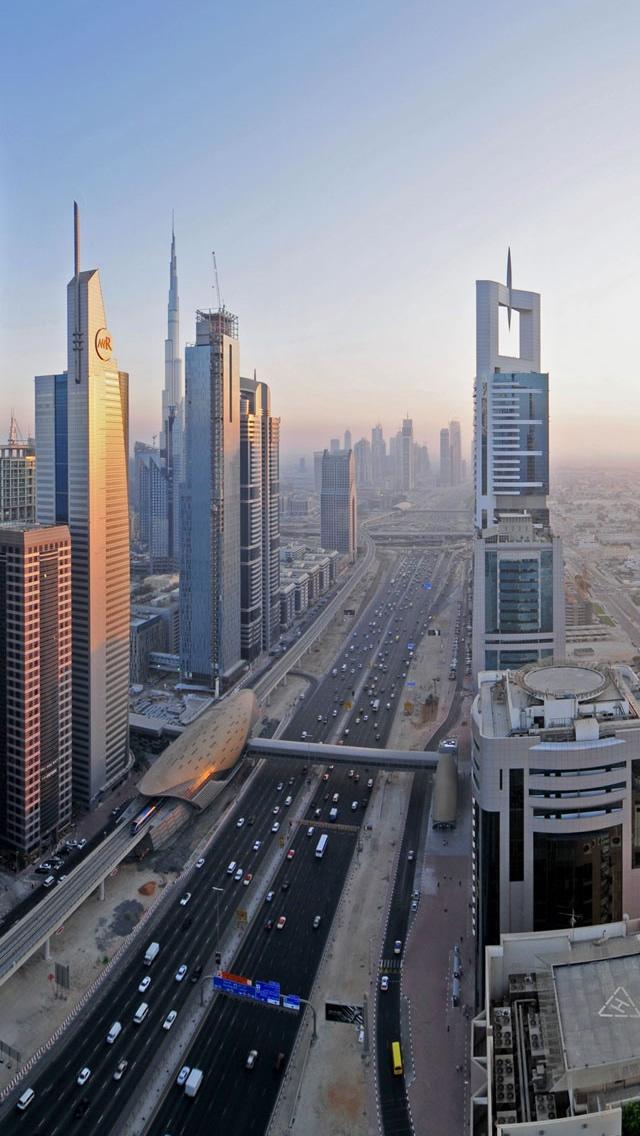 Downtown Dubai Widescreen Iphone Wallpapers Free Download